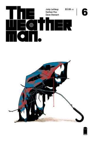 The Weatherman #6 (Martin Cover)