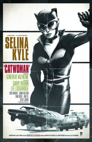 Catwoman #40 (Movie Poster Cover)