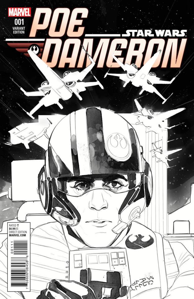 Star Wars: Poe Dameron #1 (Noto Sktech Cover)