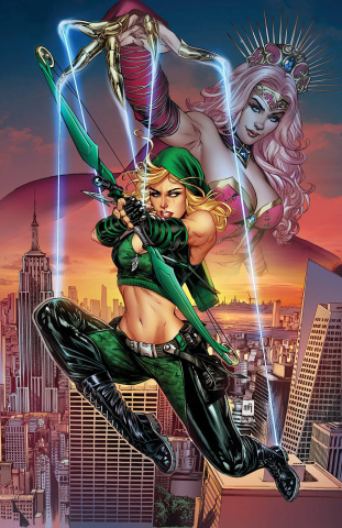 Robyn Hood: Justice #5 (Krome Cover)