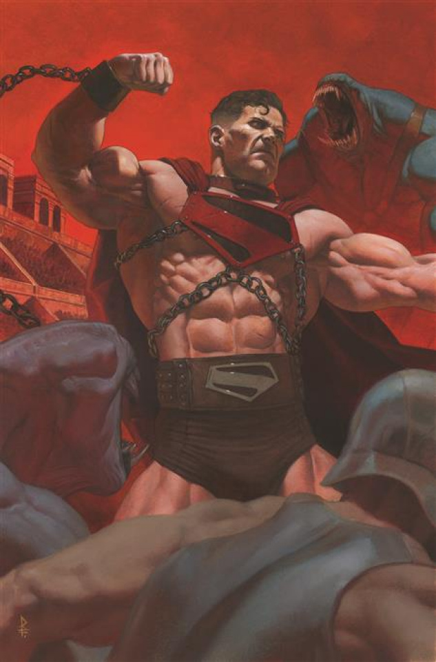 Future State: Superman - Worlds of War #1 (Riccardo Federici Card Stock Cover)