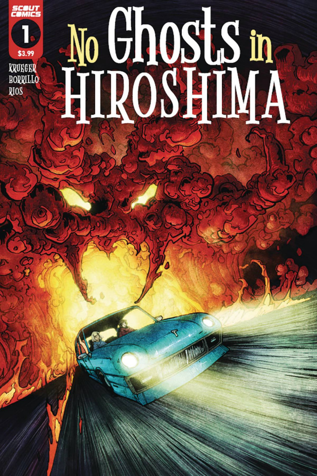 No Ghosts in Hiroshima #1 (Zach Brunner Cover)