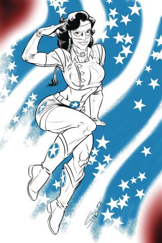 Lady Freedom #3 (Rod Espinosa Cover)