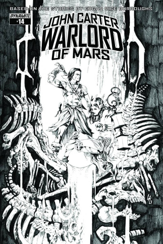John Carter: Warlord of Mars #14 (20 Copy Cover)