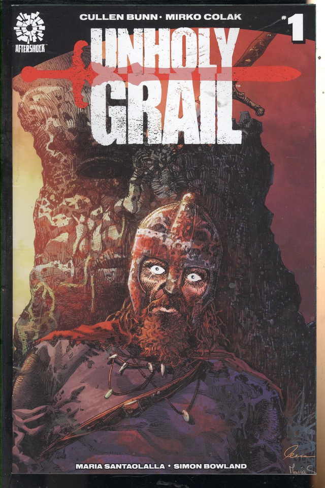 Unholy Grail #1 (Colak Cover)