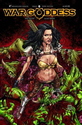 War Goddess #6 (Gore Cover)