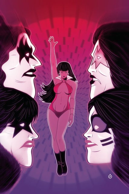 KISS / Vampirella #3 (15 Copy Doe Virgin Cover)