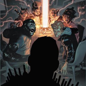 Teen Titans Academy #8 (Rafa Sandoval Cover)