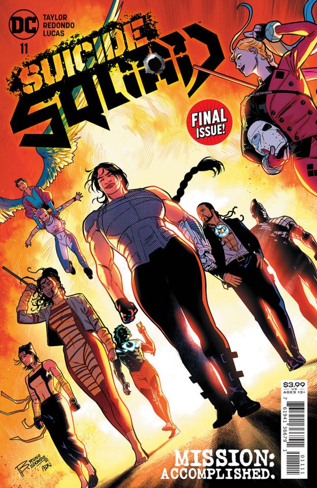 Suicide Squad #11 (Bruno Redondo Cover)