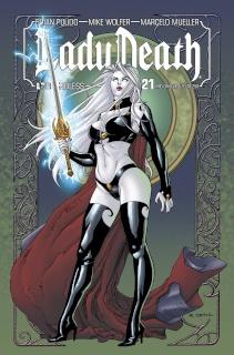 Lady Death #21 (Mid Ohio VIP Cover)