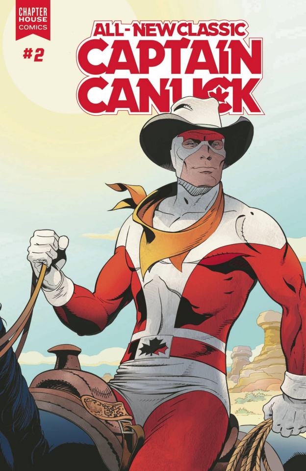 All-New Classic Captain Canuck #2 (Freeman Cover)