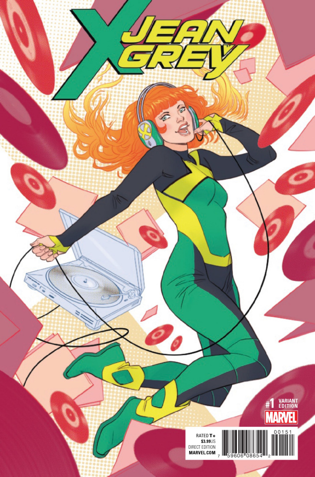 Jean Grey #1 (Sauvage Cover)