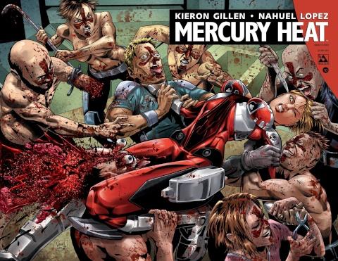 Mercury Heat #10 (Wrap Cover)
