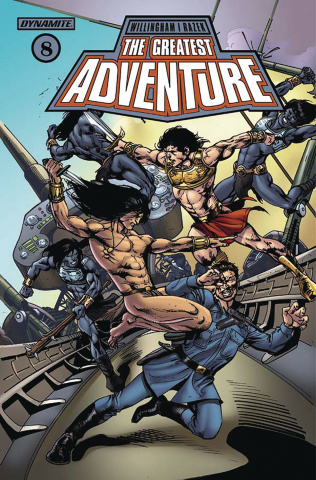 The Greatest Adventure #8 (Castro Cover)