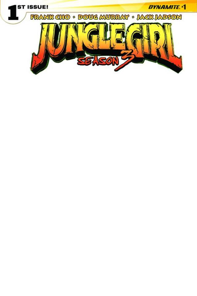 Jungle Girl, Season 3 #1 (Blank Authentix Cover)