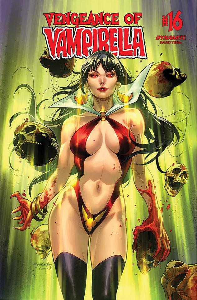 Vengeance of Vampirella #16 (Segovia Cover)