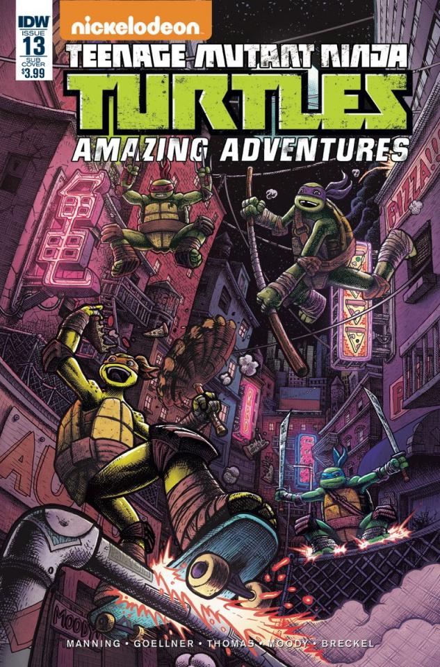 Teenage Mutant Ninja Turtles: Amazing Adventures #13 (Subscription Cover)