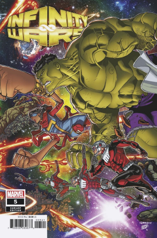 Infinity Wars #5 (Garron Connecting Cover)
