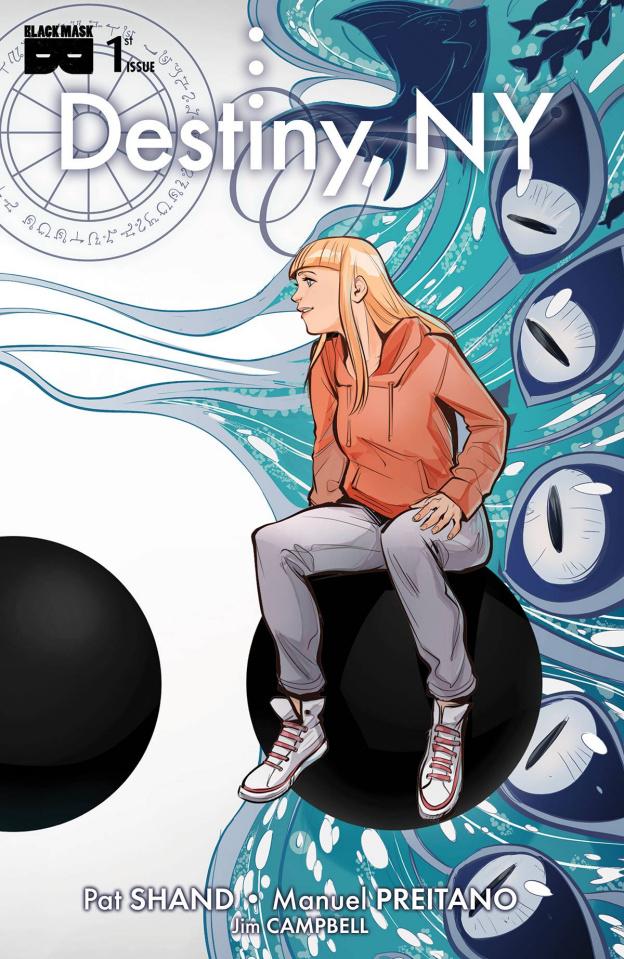 Destiny, NY #1 (Romboli Cover)