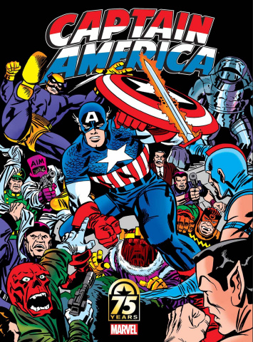 Captain America: 75th Anniversary Magazine #1 (Kirby Cover)