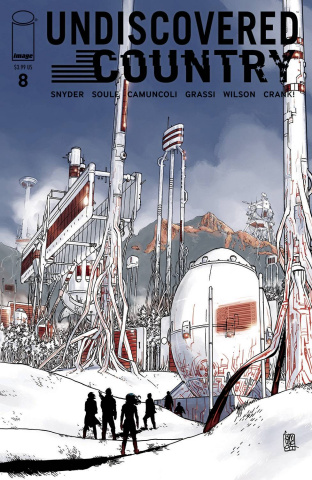 Undiscovered Country #8 (Camuncoli Cover)