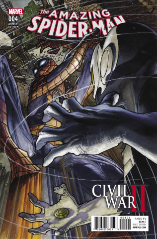 Civil War II: Amazing Spider-Man #4 (Bianchi Cover)
