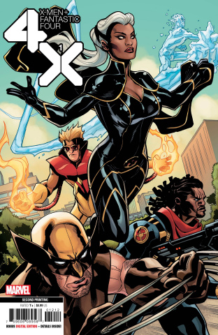 X-Men + Fantastic Four #1 (Dodson 2nd Printing)