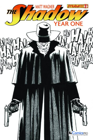 The Shadow: Year One #1 (Comicspro Cover)