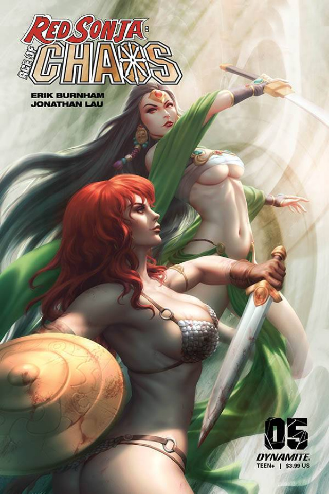 Red Sonja: Age of Chaos #5 (Kunkka Cover)