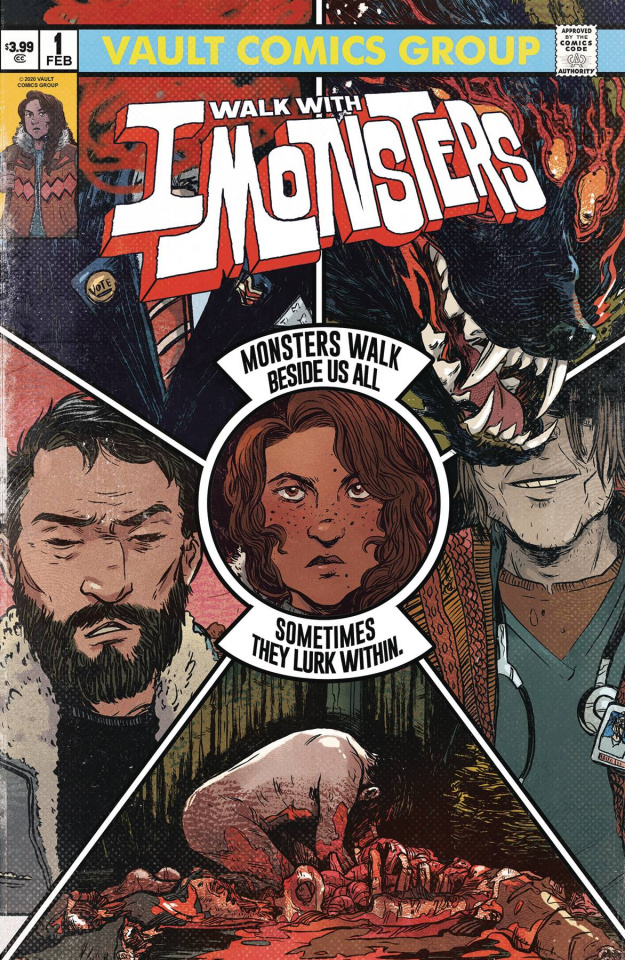 I Walk With Monsters #1 (2nd Printing)