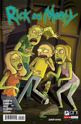 Rick and Morty #2 (4th Printing)