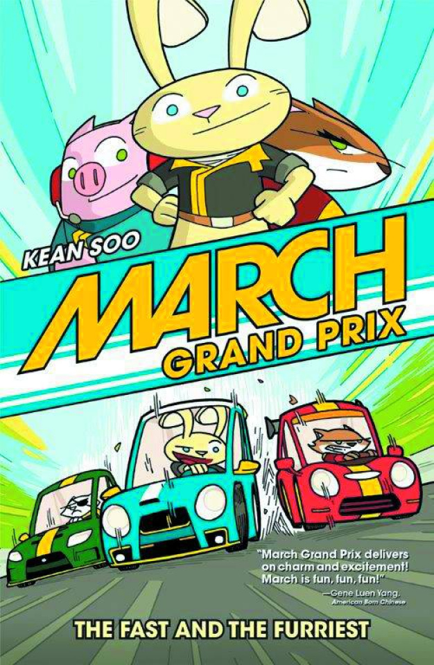 March Grand Prix: The Fast and The Furriest