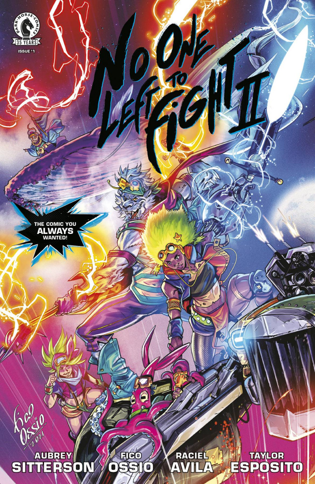 No One Left to Fight II #1 (Cover B)