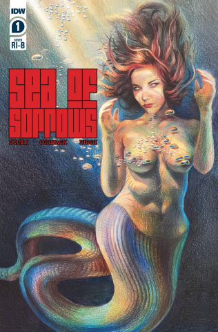 Sea of Sorrows #1 (25 Copy Erica Rose Levine Cover)