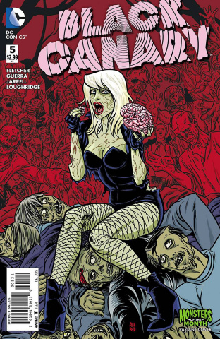 Black Canary #5 (Monsters Cover)