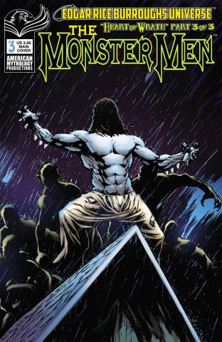 The Monster Men: Heart of Wrath #3 (Martinez Cover)