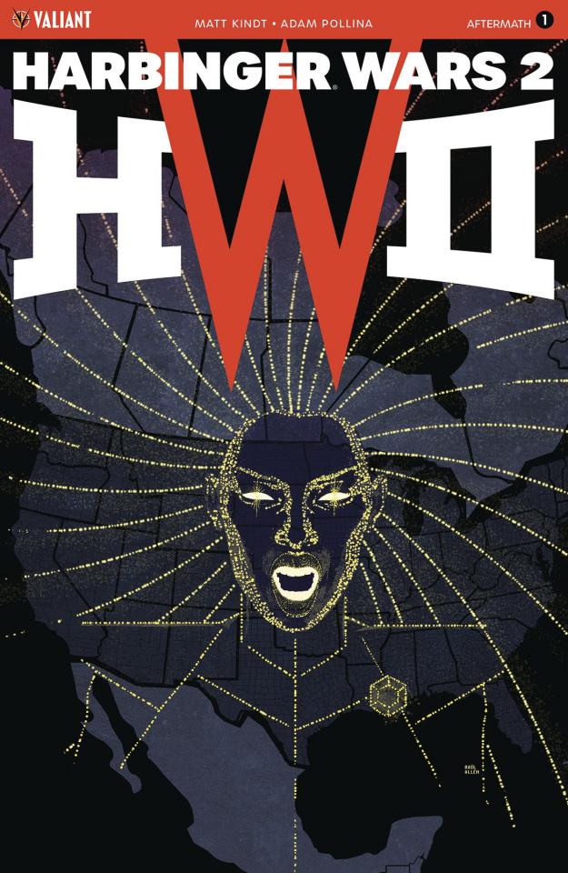Harbinger Wars 2: Aftermath #1 (Allen Cover)