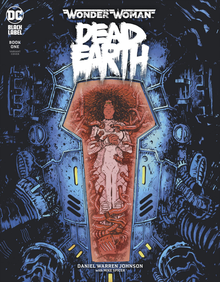 Wonder Woman: Dead Earth #1 (Variant Cover)