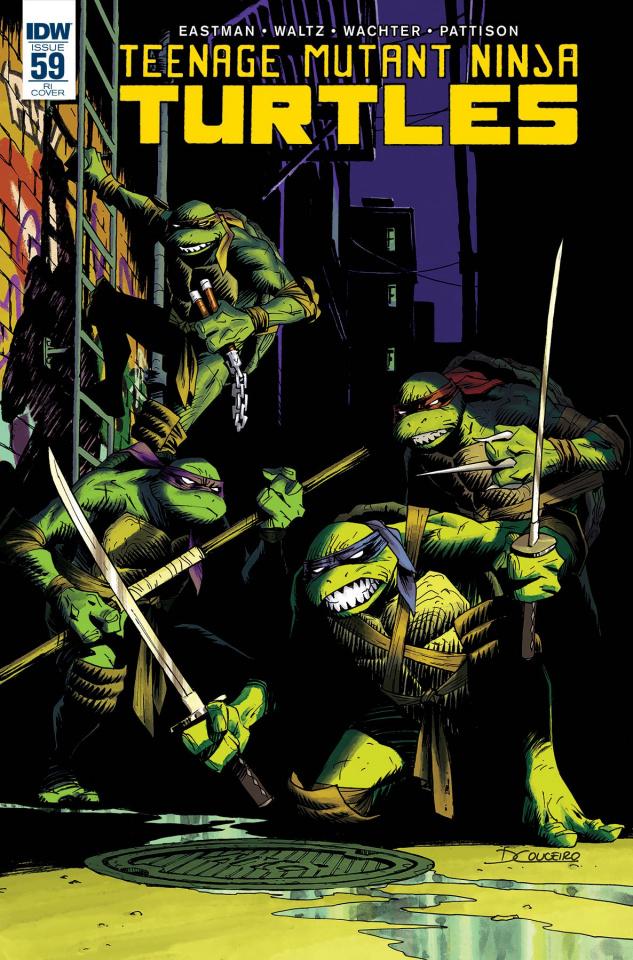 Teenage Mutant Ninja Turtles #60 (10 Copy Cover)
