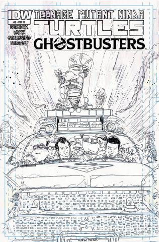 Teenage Mutant Ninja Turtles / Ghostbusters #2 (10 Copy Cover)