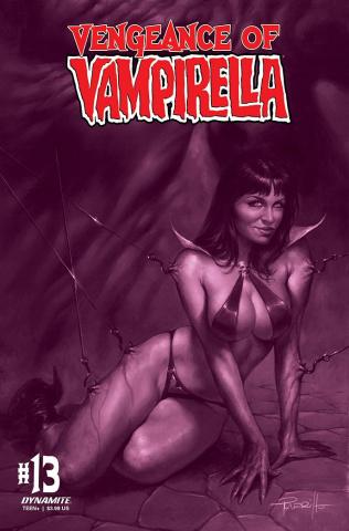 Vengeance of Vampirella #13 (30 Copy Parrillo Tint Cover)