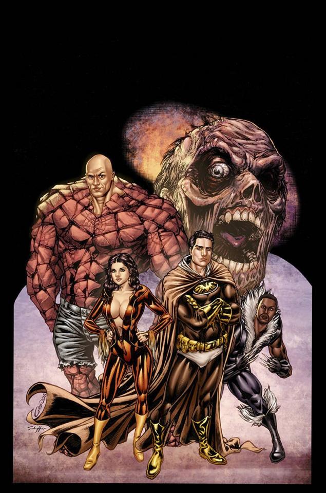 Hollywood: Zombie Apocalypse #1 (Granda Cover)