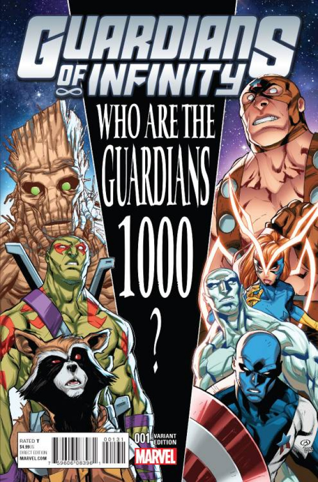 Guardians of Infinity #1 (Barberi Cover)