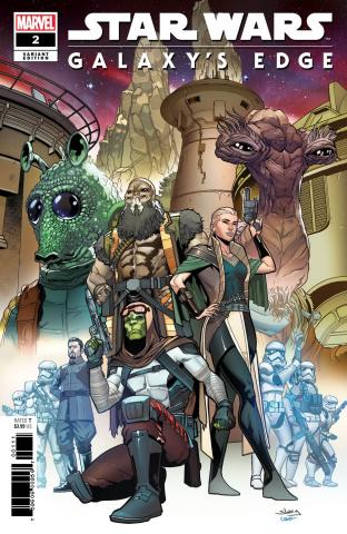 Star Wars: Galaxy's Edge #2 (Sliney Cover)