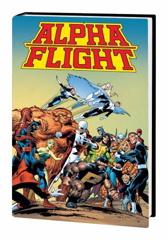 Alpha Flight by John Byrne (Omnibus)