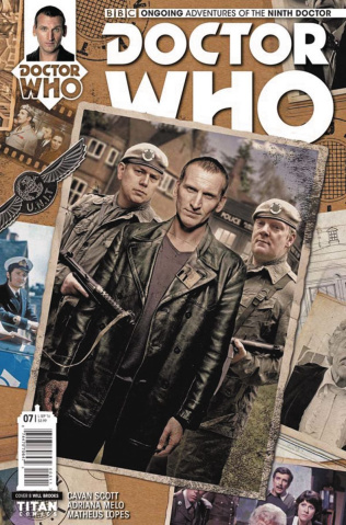 Doctor Who: New Adventures with the Ninth Doctor #7 (Photo Cover)