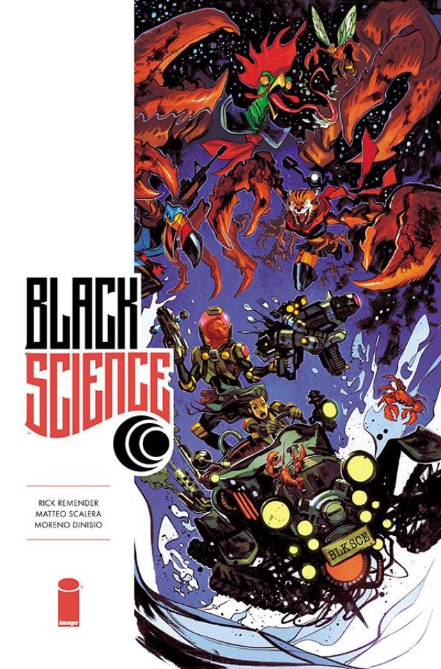 Black Science #34 (Takara Cover)
