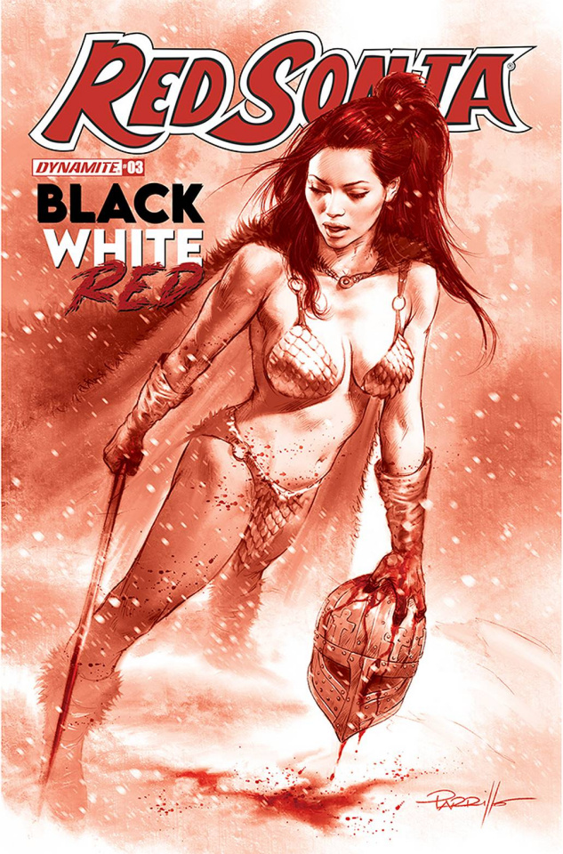 Red Sonja: Black, White, Red #3 (10 Copy Parrillo Tint Cover)