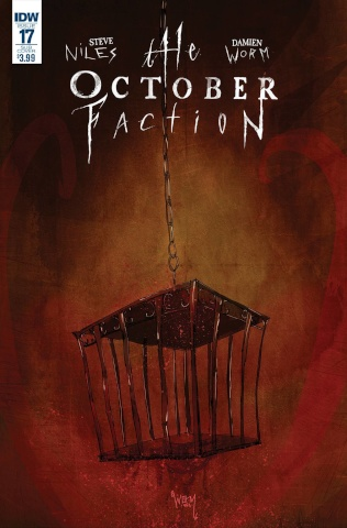 The October Faction #17 (Subscription Cover)