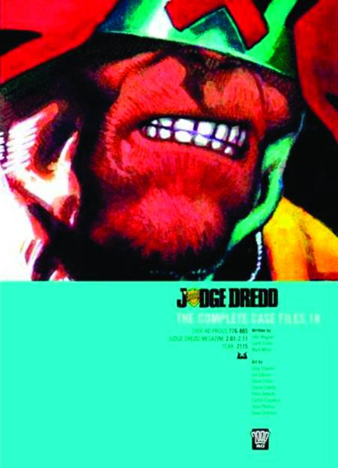 Judge Dredd: The Complete Case Files Vol. 18